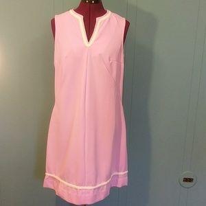 Vintage pink sheath dress